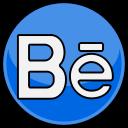 social, media, behance icon