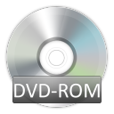 rom, dvd, disc icon