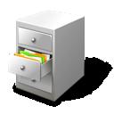 card, file, cabinet icon