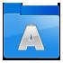 folder, a icon