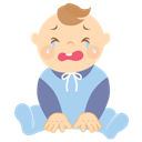Baby, Boy, Crying icon