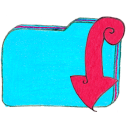 osd folder b downloads icon
