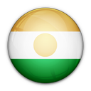 niger, flag, of icon