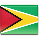 country, guyana, flag icon