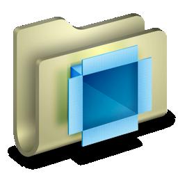 folder, dropbox icon