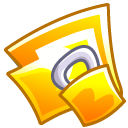 locked, lock, security, folder icon