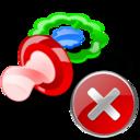 Close, Pacifier icon