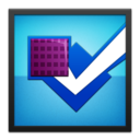 foursquare,blackframe icon