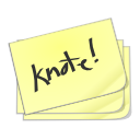 notes, knotes icon