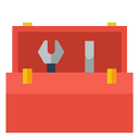 tools, tool kit, toolbox icon