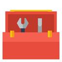 tools, tool kit, toolbox icon