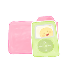 Ak, Candy, Folder, Ipod icon
