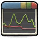 Activity Monitor System Monitor or Task Manager icon