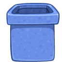 blank, recycle bin, empty, trash icon