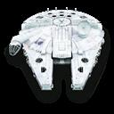 Falcon, Millenium, Star, Wars icon