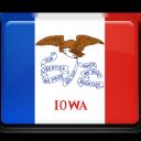 iowa, flag icon