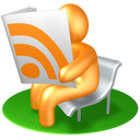 Reader, Rss, Yellow icon