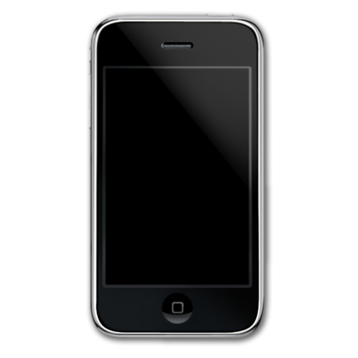 smartphone, iphone, cell phone, front, mobile phone icon