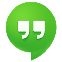 hangouts, messages icon