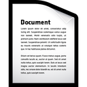 file, document, word icon