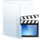 Folder Light Video icon