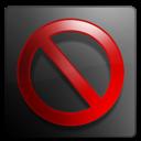 cover, close, stop, no, no cover, cancel icon