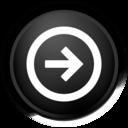 black,logoff icon