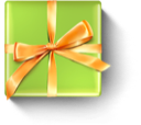 christmas, present, birthday, gift icon