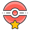 play, pokemon, pokecenter, go, game icon
