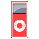 2g, Ipod, Nano, Red icon