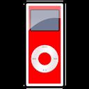 nano, red, 2g, ipod icon