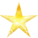 Star gold icon