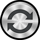 refresh, metal, isync, mac icon