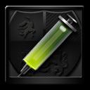 Anti, Black, Virus icon