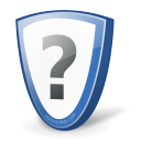 security, shield, protect, question, help, guard icon