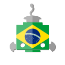 brazil, bot, telegram, flag, robot, br icon