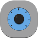 Flat, Round, Settings icon