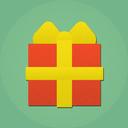 christmas, present, gift icon