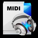 midi, sound, music, sequence icon