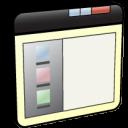 back, arrow, backward, window, previous, left, panel, prev icon