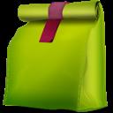 Bag, Doggy, Green icon