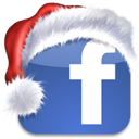 media, xmas, bookmark, social network, sn, facebook, christmas, social icon