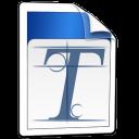 sistema, fuente icon