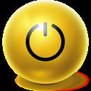 bright,ball,standby icon