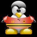 angola,penguin,animal icon