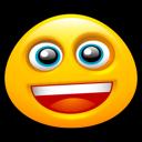 Face, Grin, Happy, Smiley icon