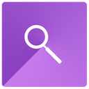 find, look, search, magnifying glass icon