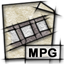 mpeg, video, mime, gnome, mpg icon