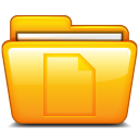 file, folder, document, paper icon
