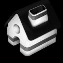 Home Black icon